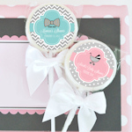 Something Sweet Personalized Baby Lollipop Favors