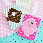 Personalized Baby Shower Luggage Tag Favors