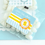 Rubber Ducky Personalized Jelly Bean Packs