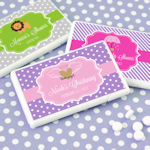 Personalized Baby Shower Mini Mint Favors (Many Designs)