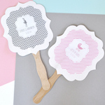 Personalized MOD Pattern Baby Paddle Fans
