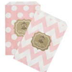 Birdcage Party Chevron & Dots Goodie Bags (Set of 12)