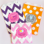 'Babies are Sweet' Personalized Goodie Bags (Set of 12)