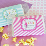 'She's going to POP' Microwave Popcorn Bags