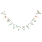 Birdcage Party Pennant Banner