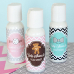 Baby Shower Personalized Lotion Favors