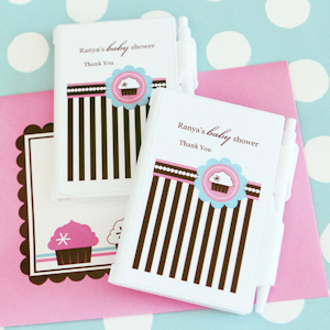 Cupcake Party Personalized Notebook Favors imagerjs