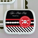 Personalized Pirate Baby Shower Mint Tins
