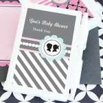 Personalized Gender Reveal Shower Notebook Favors