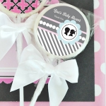 Gender Reveal Lollipop Baby Shower Favors