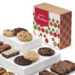 Christmas Brownie & Cookie Combo Gift Box