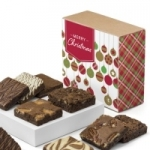 Christmas Brownie Gift Sampler