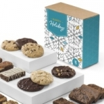 Holiday Brownie & Cookie Combo Gift Box