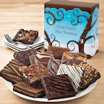 Celebrate the Season Brownie Holiday Gift Box