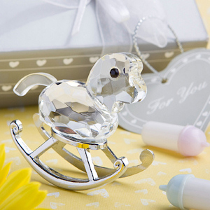Choice Crystal Rocking Horse Favors imagerjs