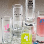 Personalized Baby Shower Shooter Glass