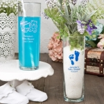 Personalized Baby Shower Zombie Glass Favors