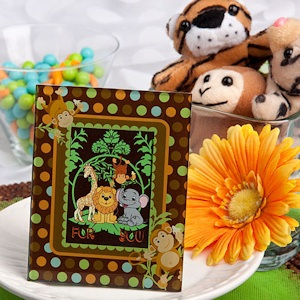 Jungle Critters Collection Monkey Picture/Place Card Frames imagerjs