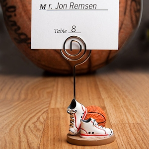 Basketball Themed Place Card Holders imagerjs