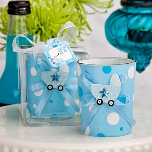 Cute Boy Candle Holder Favors imagerjs