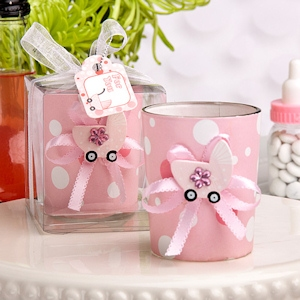 Cute Girl Candle Holder Favors imagerjs