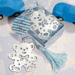 Lovable Blue Teddy Bear Bookmarks