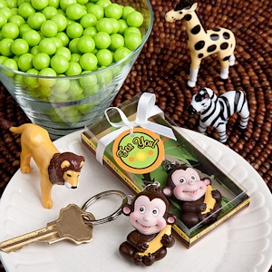 Jungle Critters Collection Keychain Favors imagerjs