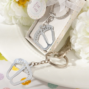 Little Feet Keychain Baby Shower Favors imagerjs