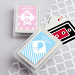 Simply Stylish Playing Card Baby Shower Favors