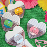 Heart Shaped Personalized Magnetic Memo Clips