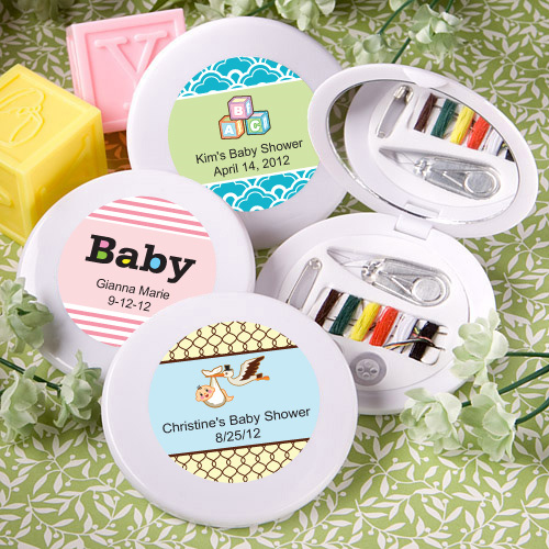 Baby Gift Basket Kit : Personalized baby sewing kit favors aa gifts baskets