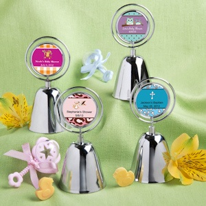 Design Your Own Collection Baby Themed Bell Favors imagerjs