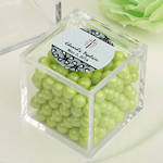 Personalized Acrylic Cubic Baptism Favor Box