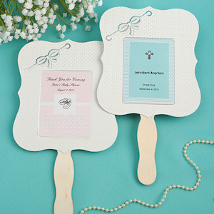 Personalized Paper Fan Baby Shower Favors imagerjs