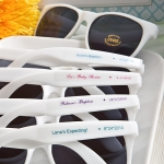 Personalized Baby Shower Sunglasses