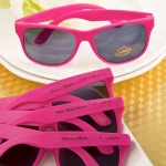 Hot Pink Personalized Baby Shower Sunglasses Favors