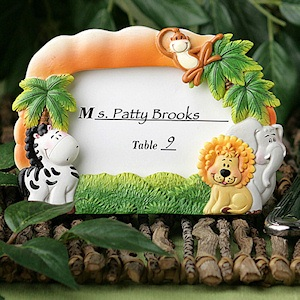 Jungle Critters Place Card Frames imagerjs