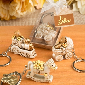 Baby Theme Vintage Key Chain Shower Favors imagerjs