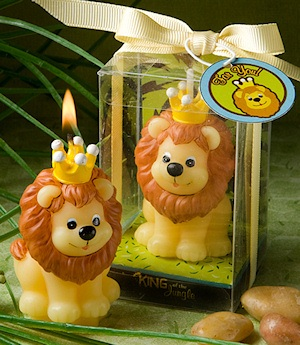 King of the Jungle Wax Candle Favors imagerjs