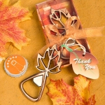 Fall Leaf Bottle Opener Party Favors