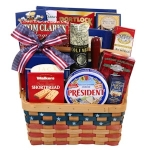 Patriotic Treats Gift Basket