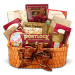 Corporate Greetings Gourmet Gift Basket
