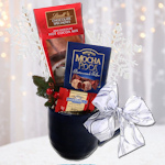 Lindt Chocolate Holiday Gift Mug