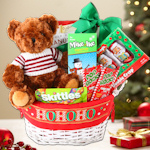 Santa Christmas Gift Basket for Kids