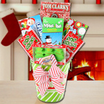 Santa's Coming to Town Candy Tin