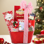 Snowflake Holiday Wishes Gift Basket