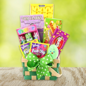 Happy Easter Wishes Gift Basket imagerjs