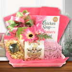 Mothers Book & Snack Gift Tray