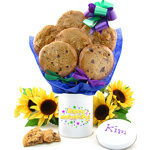 Anniversary Cookie Tin Bouquet