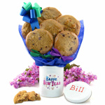 New Year Cookie Tin Bouquet